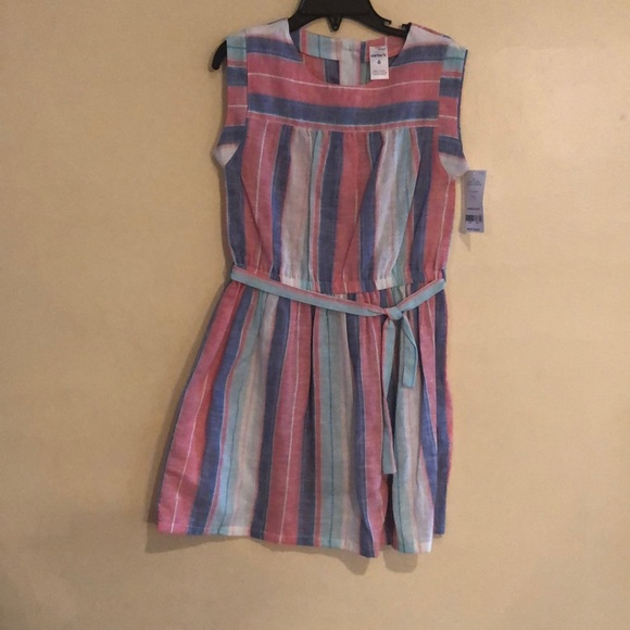 Carter's Other - Carter's pink and blue striped dress